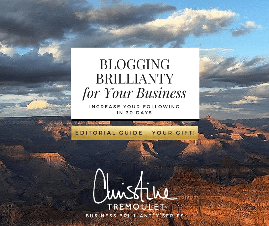 Editorial Guide - Your Gift - from Blogging Brilliantly