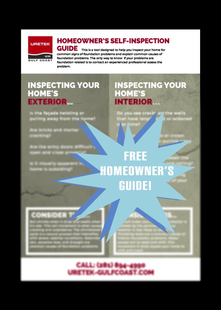 Foundation inspection checklist