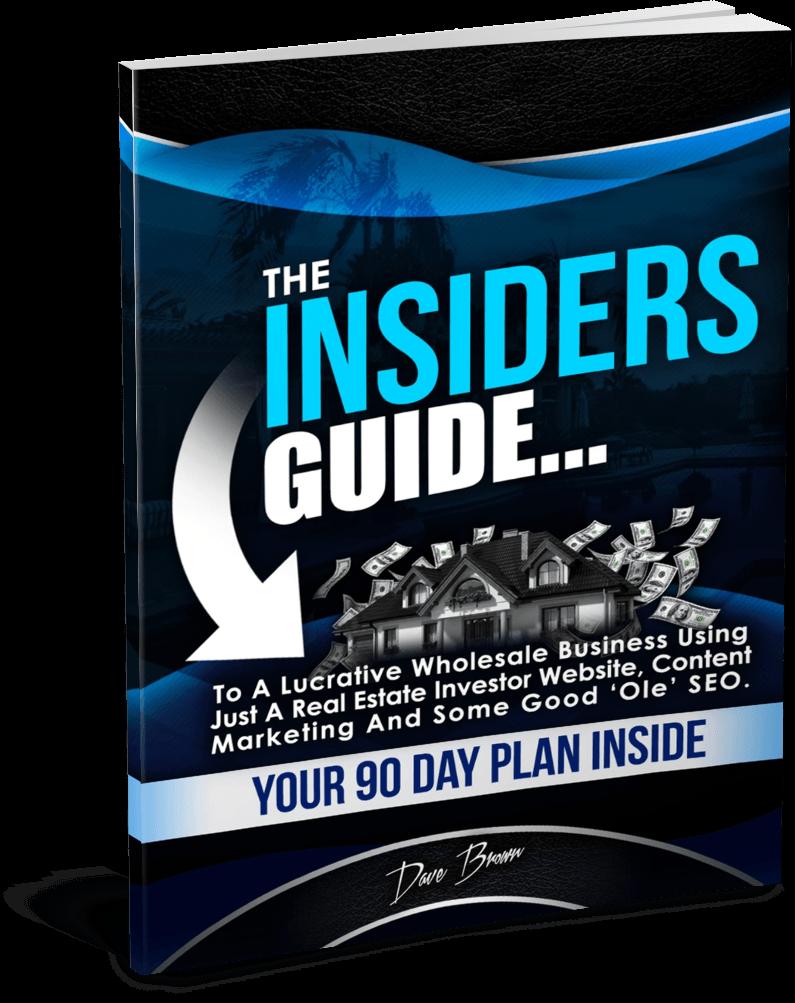 get more leads to real estate investor website