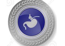Zilveren programma virtuele maagband