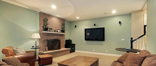 Newly renovated basement in Auburn, NY