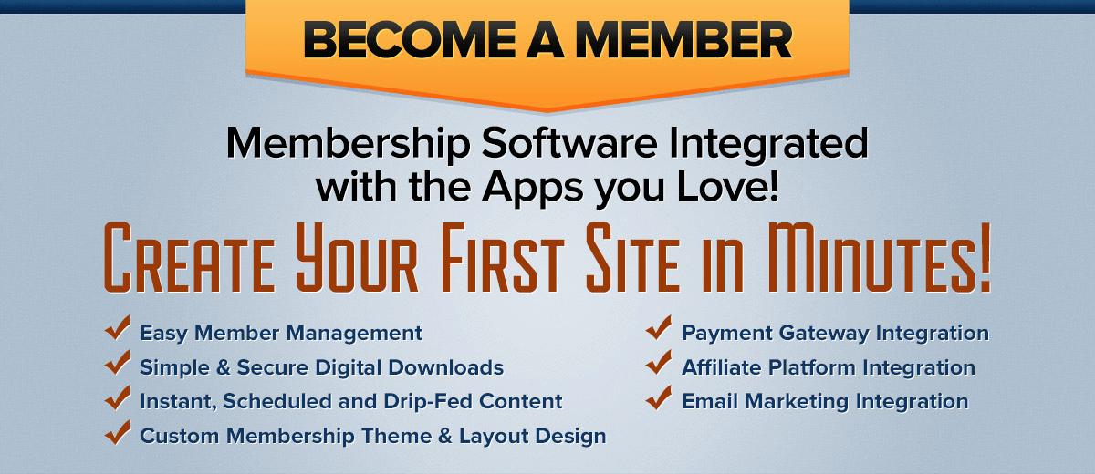 Freshmember membership software