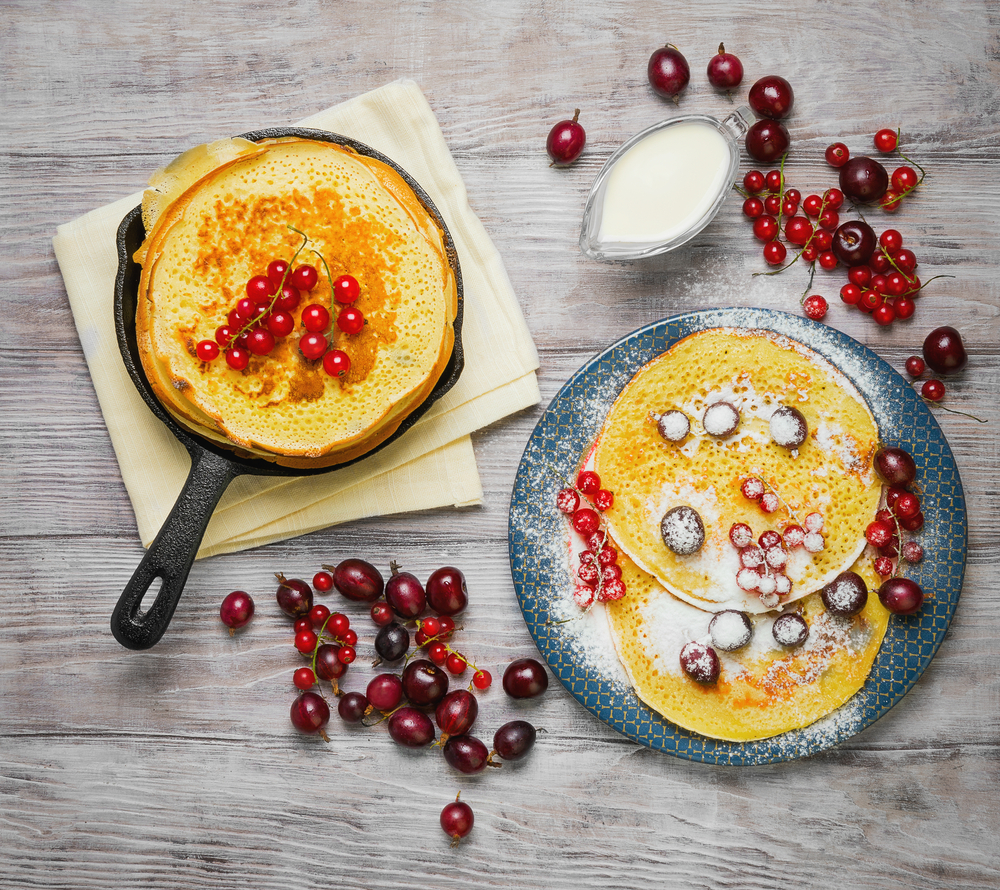 Custom Meals Pancakes