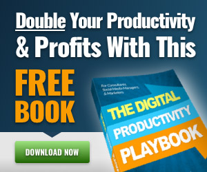 Double your Productivity with this free book.