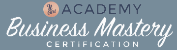 It Girl Academy Business Mastery Certification