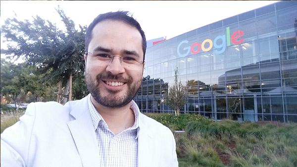 Sede do Google (Vale do Silício, EUA)  - 4ª missão na região, novembro de 2015.