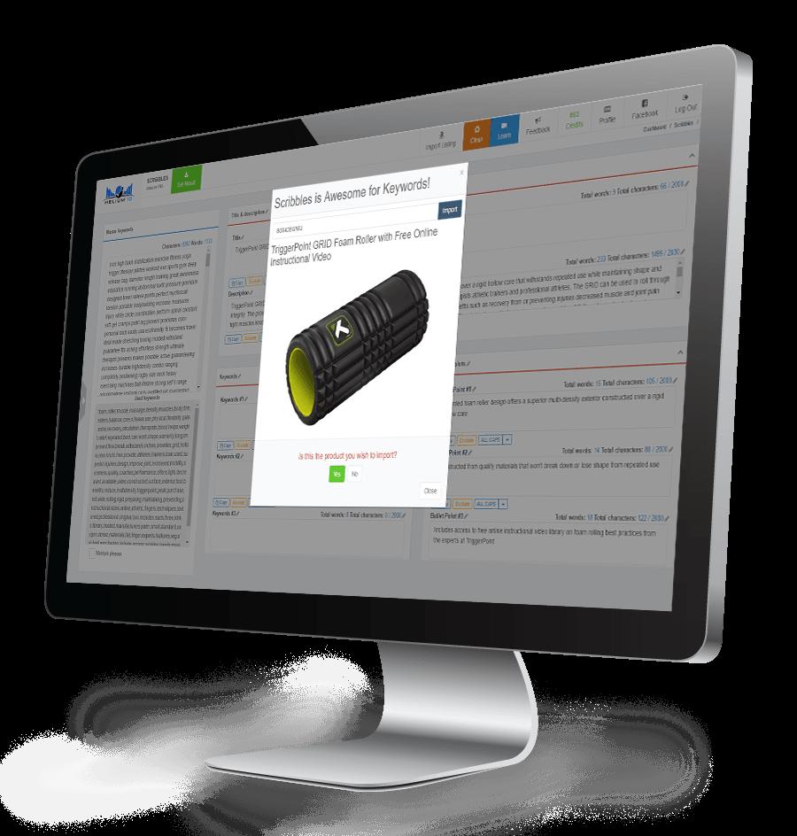 Scribbles - Amazon Listing Optimization Tool