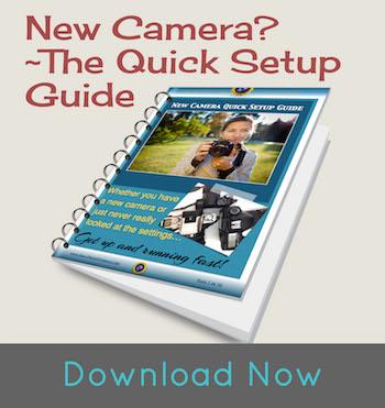 DSLR camera setup guide