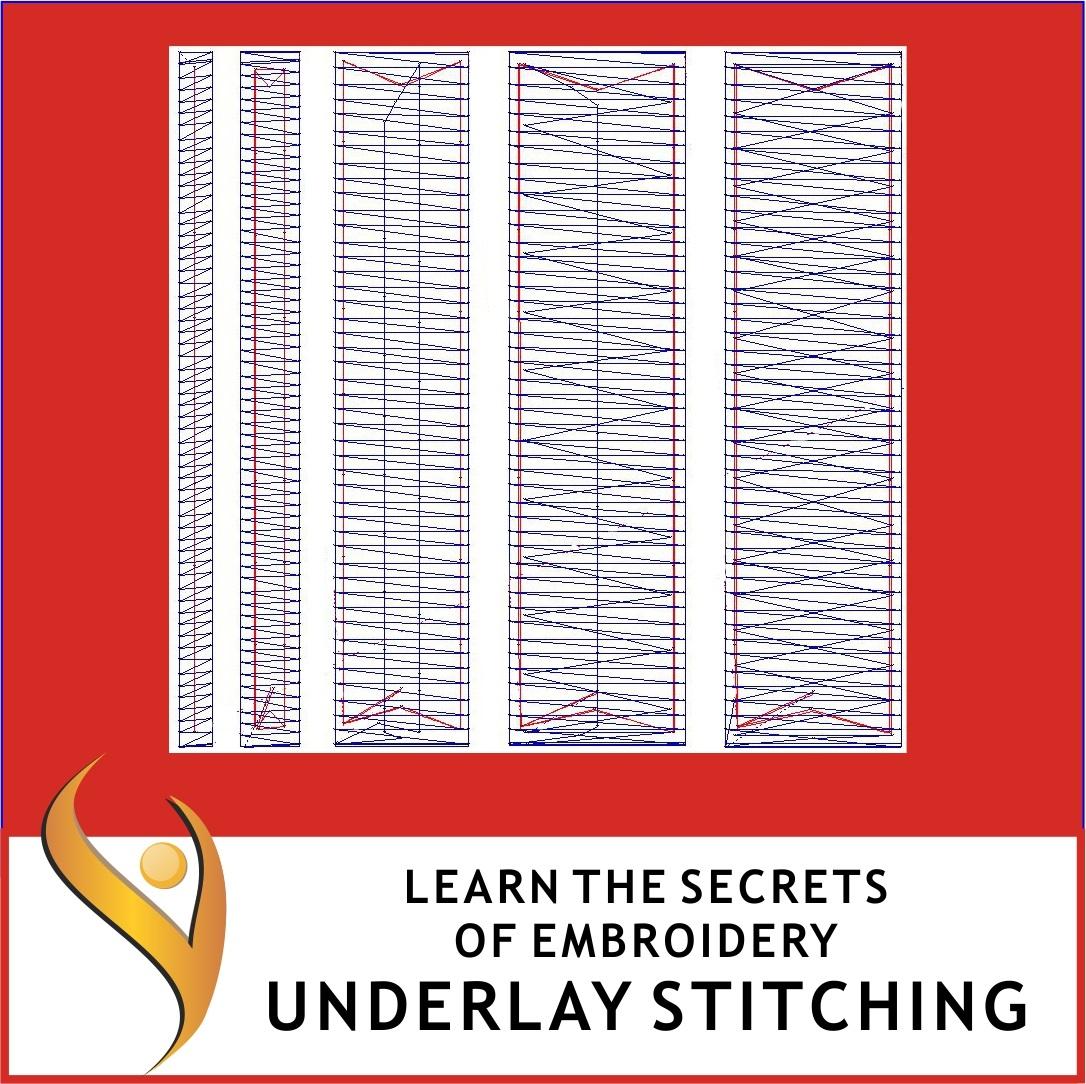 Embroidery Underlay Stitching