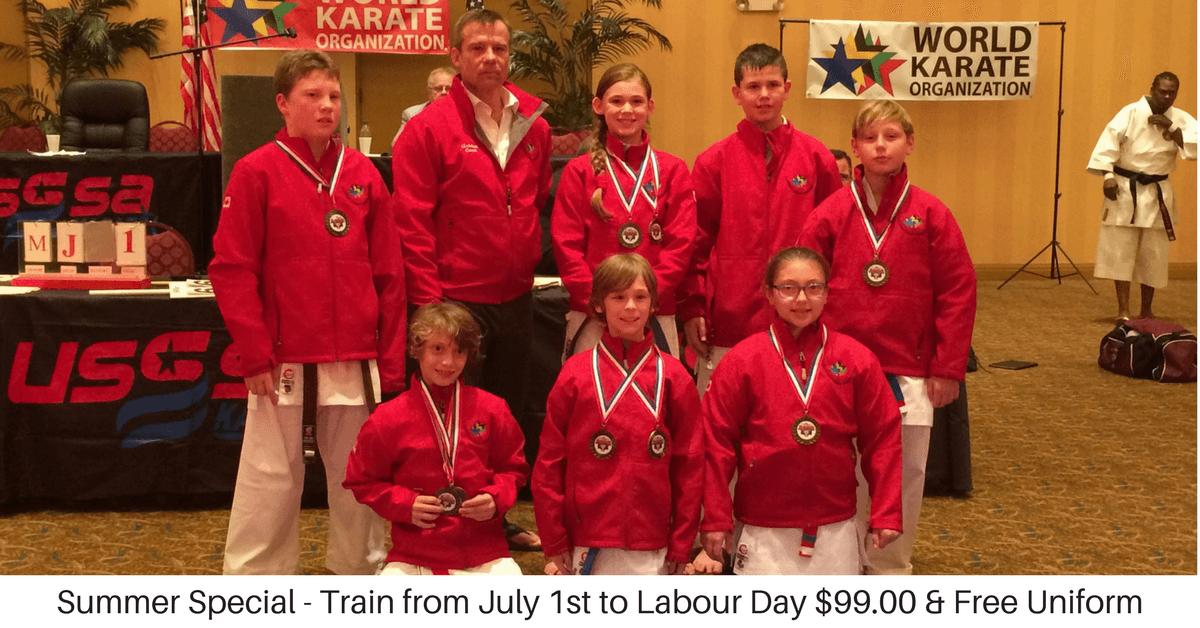 Niagara Offers - Burnik Karate Special Offer