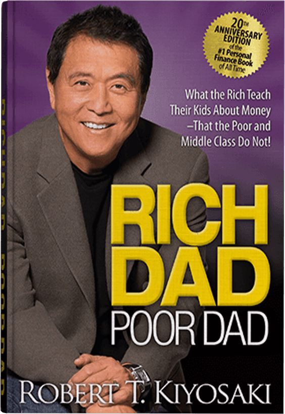 Rich Dad Poor Dad 20th Anniversary edition book image