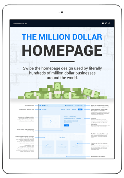 ultimate homepage conversion template