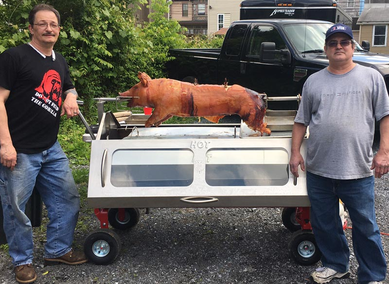Home Catering Business using the Pig Roaster Pro