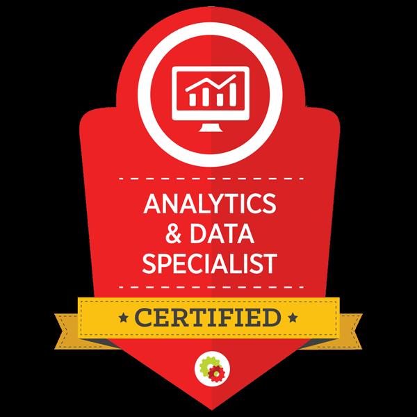 Analytics And data Sepcialist