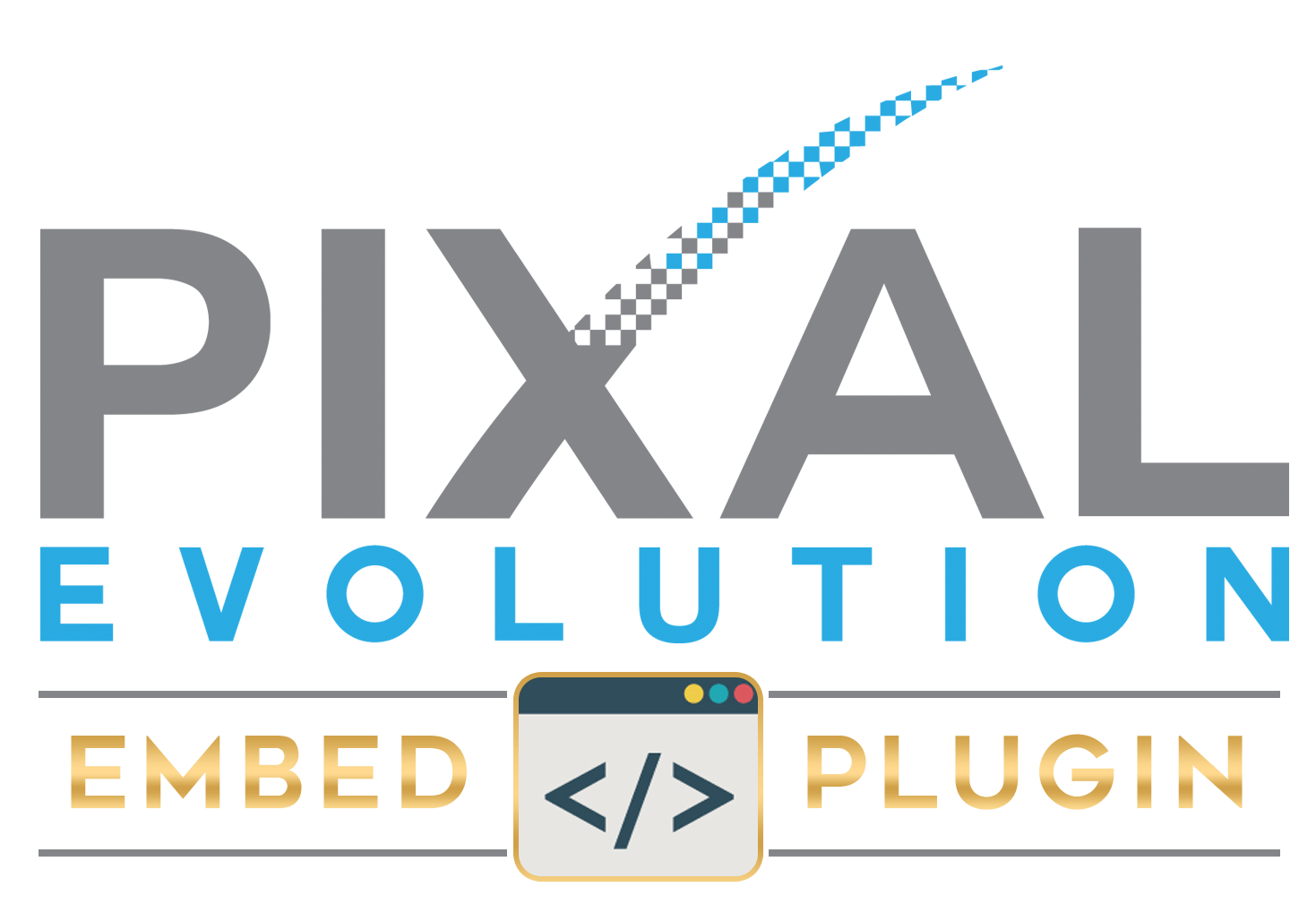 Pixal-Evolution-Embed-Plugin-Logo-2. Pixal Evolution