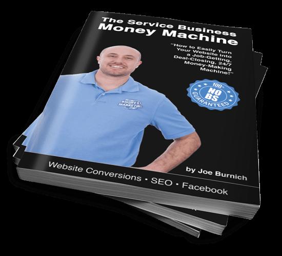 Joe Burnich Author - The Service Business Money Machine
