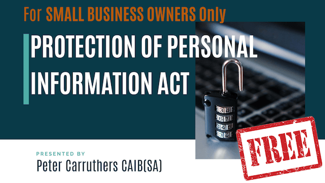 Free Seminar: Protection of Personal Information Act