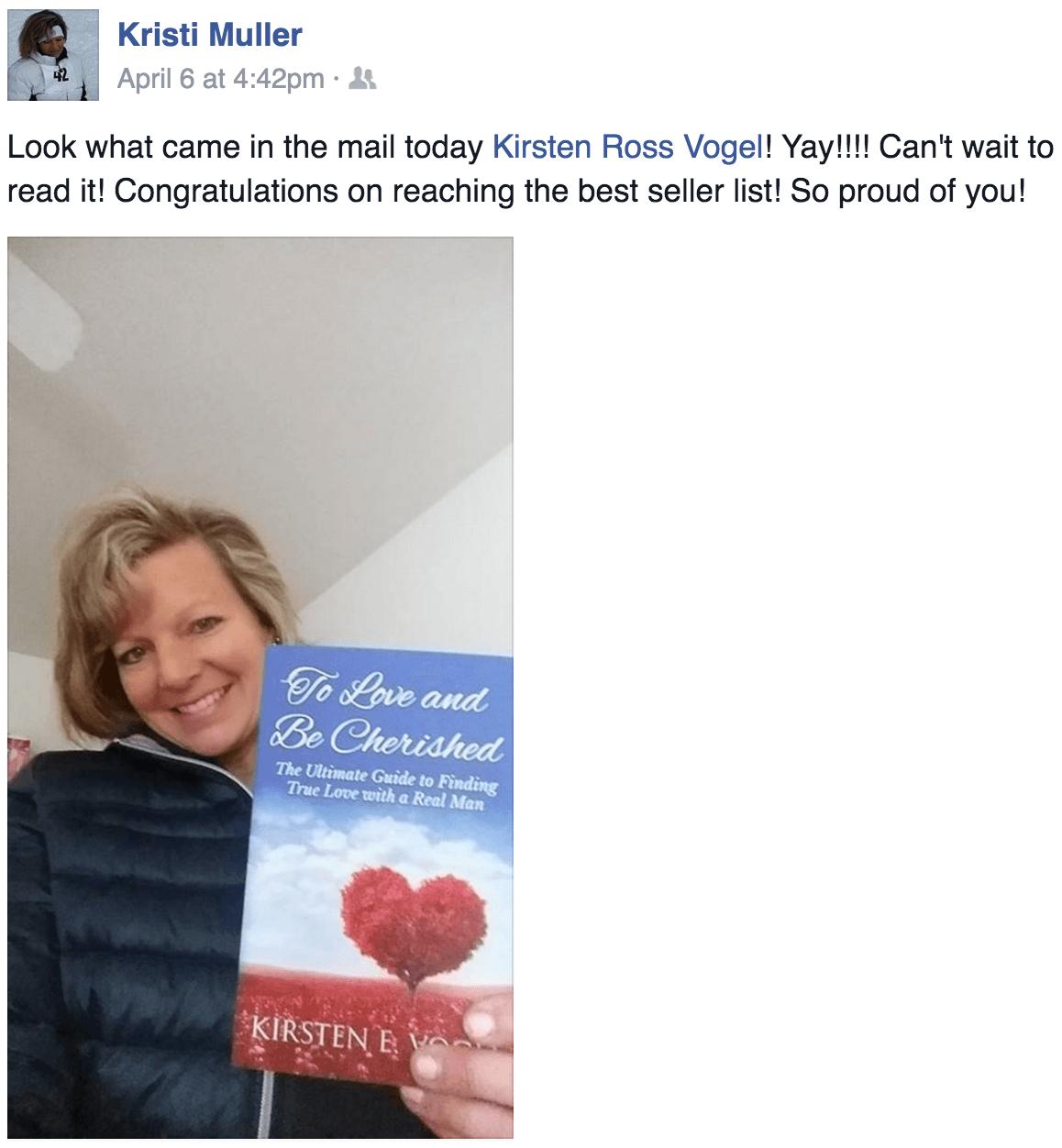 To Love and Be Cherished Book Testimonial Stephanie Rowe Romagnoli