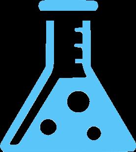 Black Chemistry Flask acid icon