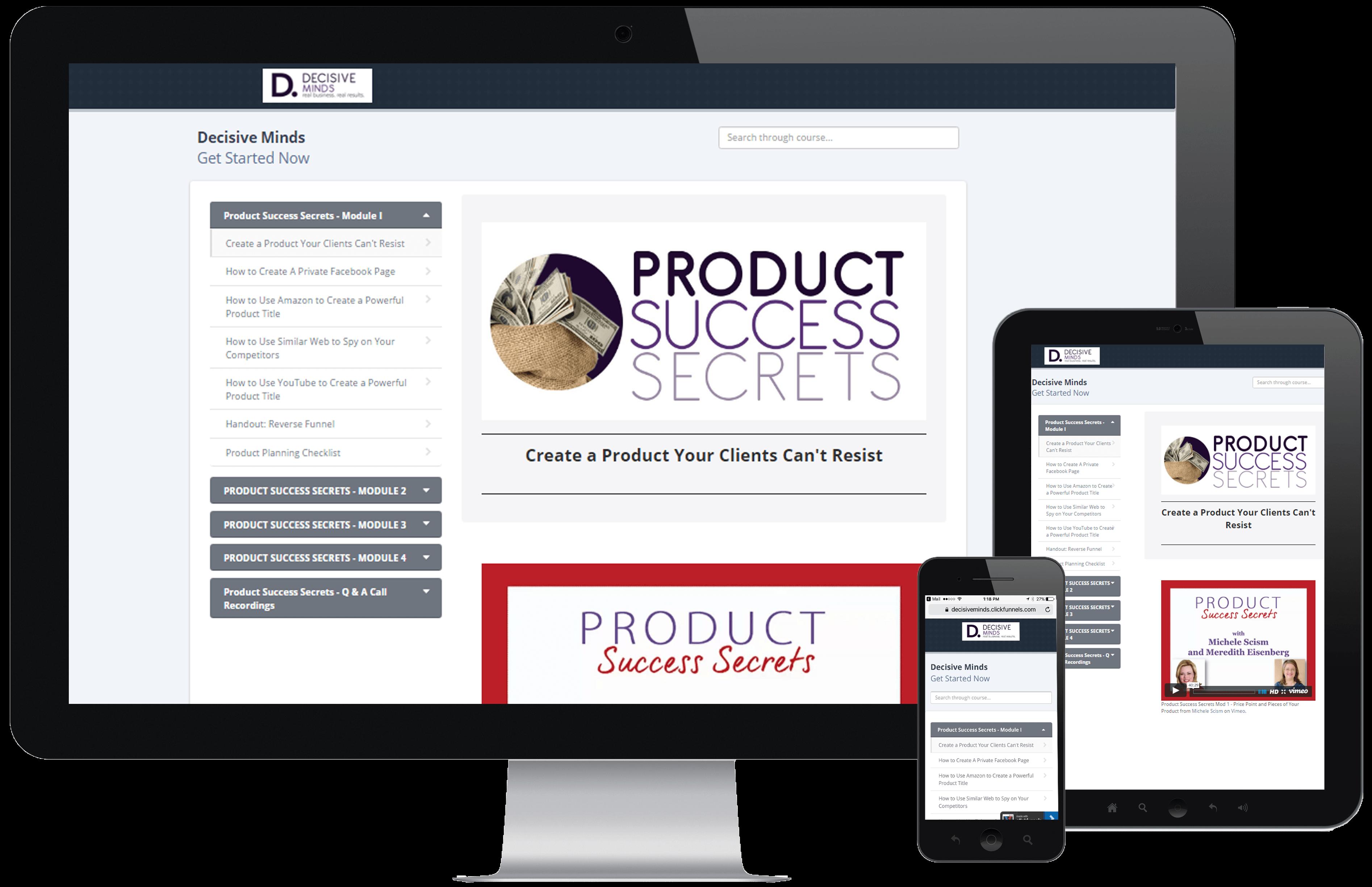 product success secrets