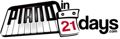 Piano In 21 Days Logo