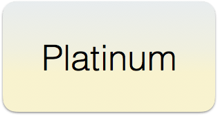 Platinum Rectangular Button