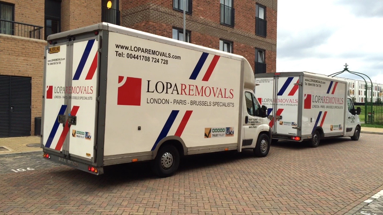 removals to paris with a small van