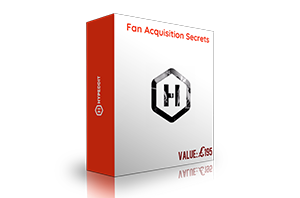 Fan acquisition secrets - Live Q&A training with John Gold (Value £195)