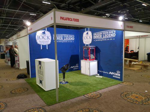 Dzines Octanorm shell scheme exhibition stand