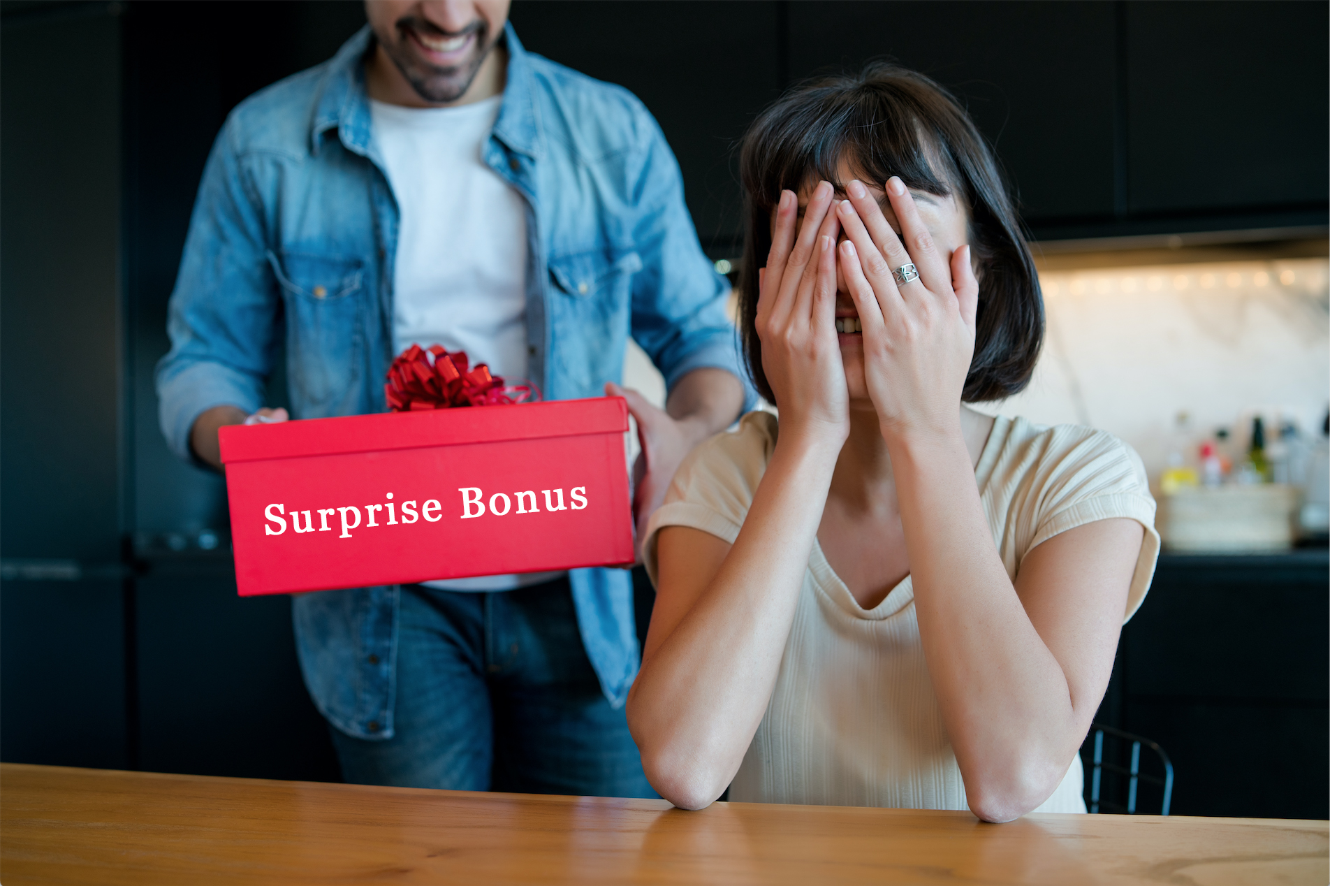 suprise bonus