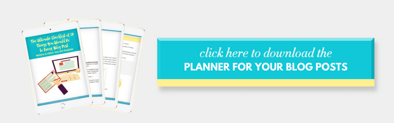 download blog planner to know what to do before and after publishing