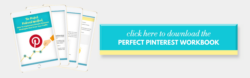 How to use Pinterest to grow your blog downloadable workbook